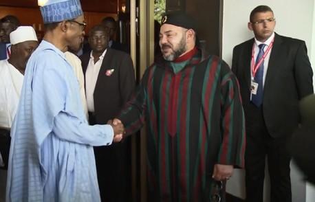 جلالة الملك يواصل تتبع مشروع أنبوب الغاز برفقة الرئيس النيجري
