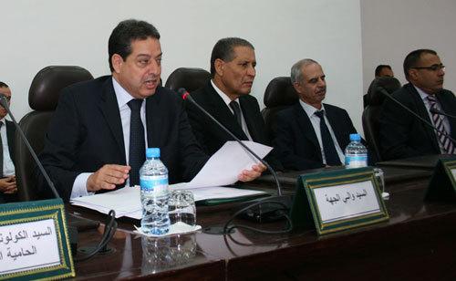 إجتماعا مستعجلا حول ملف الاسرة المعتصمة ببني بوعياش بمقر وزارة الداخلية