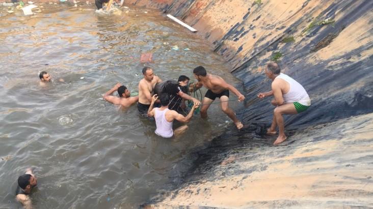 مؤثر : وفاة طفل يبلغ من العمر 4 سنوات غرقا في قناة للري ببوعرك