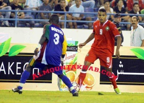 تعادل سلبي للمنتخب الوطني المغربي بقلب بانغي وفرحة التأهل تأجل