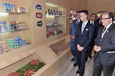 صاحب السمو الملكي ولي العهد الأمير مولاي الحسن يترأس افتتاح فعاليات المعرض الدولي للفلاحة