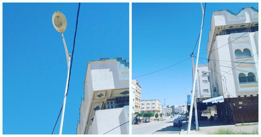 إقليم الدريوش.. عمود كهربائي آيل للسقوط ببن الطيب ومطالب من الجهات المعنية بالتدخل العاجل