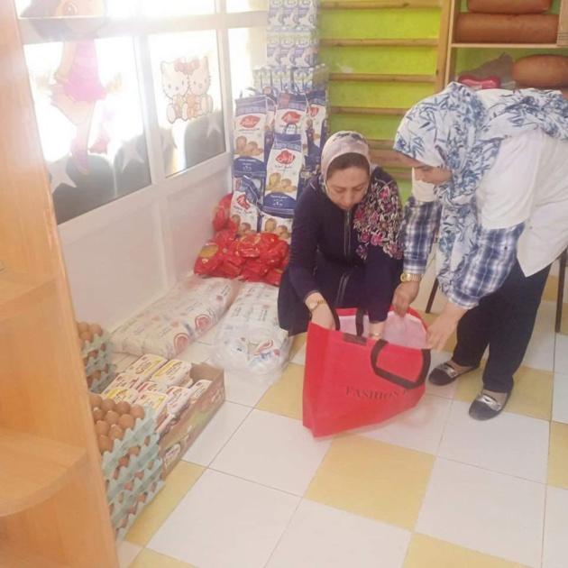 جمعية الامانة للمرأة والطفل والتضامن الاجتماعي توزع قفف رمضان على الأسر في وضعية هشاشة اجتماعية و تزرع الابتسامة بامكانيات محدودة