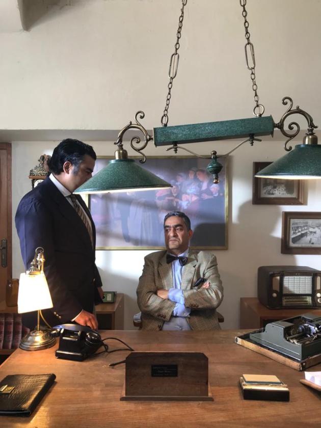 بالصور: المخرج المغربي ابراهيم الشكيري ينتهي من تصوير مشاهد الفيلم التلفزي