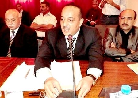 تحدير للبرلماني محمد لعرج من عمالة الحسيمة حول حملة انتخابية سابفة لاوانها