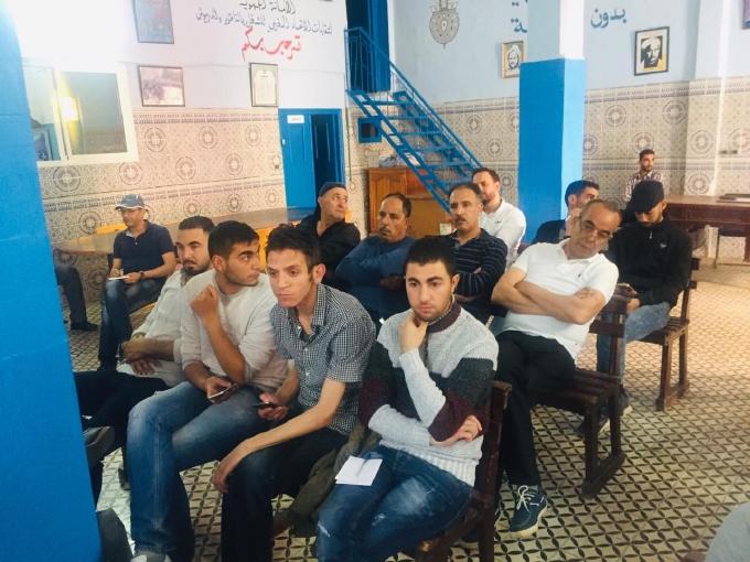 """الأستاذ جمال العلاوي يؤطر ندوة علمية تحت عنوان""""البطالة في المغرب،من المسؤول؟"""