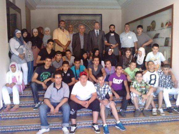 زيارة وفد عن الجمعية الإسلامية للشباب والخدمات الاجتماعية إلى المغرب