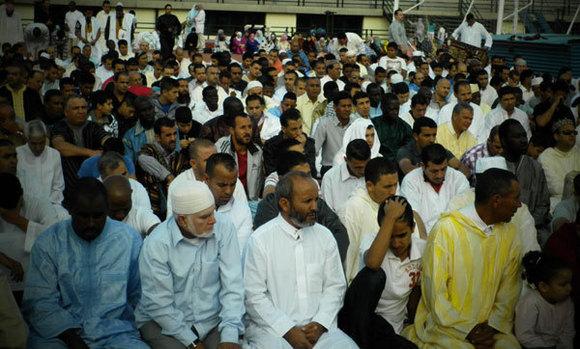 الجالية المغربية بالجزر الخالدات – تينريفي – تحتفل بعيد الأضحى المبارك