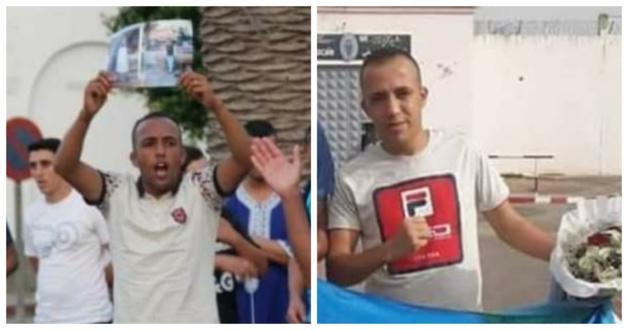 """بعد سنة من الاعتقال.. الناشط الريفي """"محسن علاوي """" يرحل الى مليلية ويطلب اللجوء السياسي"""
