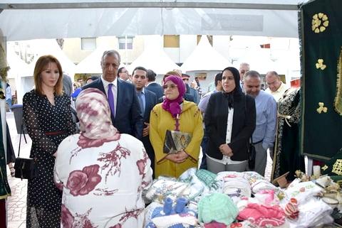 العامل فريد شوراق يفتتح فعاليات معرض الأسواق المتنقلة للاقتصاد الاجتماعي والتضامني بالحسيمة