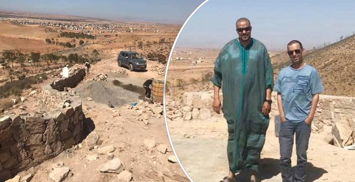 نائب رئيس مجلس اقليم الدريوش محمد طوري في زيارة ميدانية لتتبع أشغال المنتزه الغابوي تاوريرين