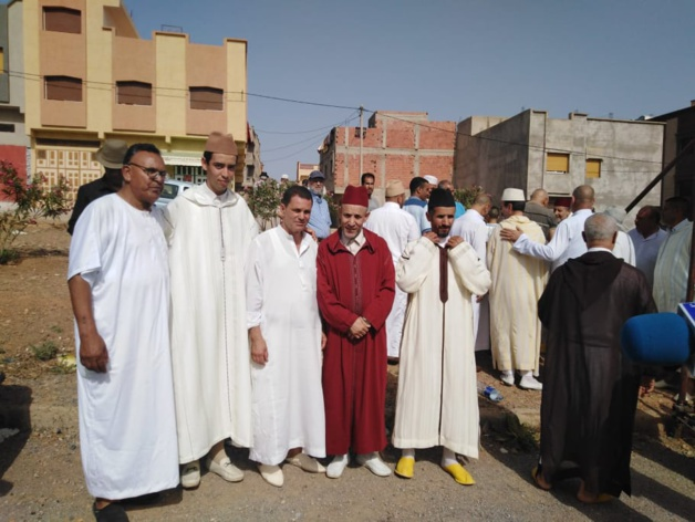 إعطاء انطلاقة لبناء مسجد بدر بزايو