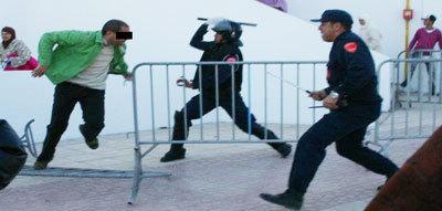 الجزيرة ريف: إشتباكات أمام مُركب مرجان بالحسيمة