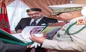 جلالة الملك يستقبل المفتش العام للقوات المسلحة الملكية