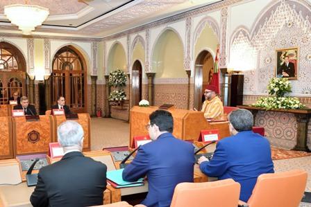 جلالة الملك يترأس مجلسا للوزراء