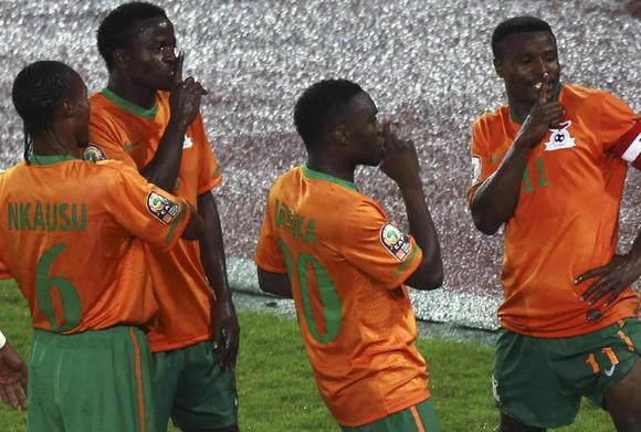 المنتخب الزامبي بطل أمم إفريقيــــــــــــا 2012