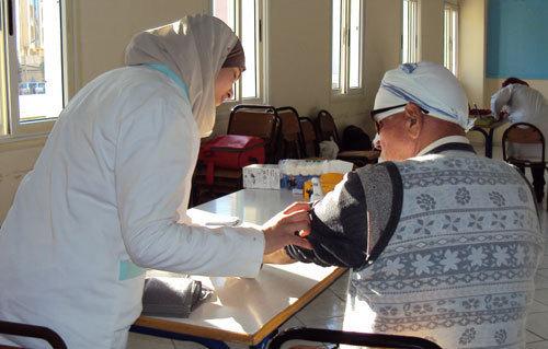 تقرير عن القافلة الطبية المنظمة من طرف جمعية ريف القرن 21 بإقليم الحسيمة