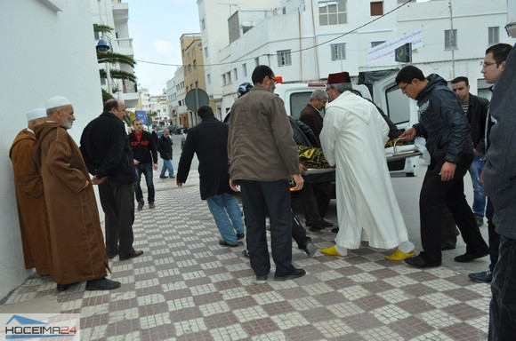 بالصور والڤديو : تشييع جنازة والد عامل إقليم النــــاظور العاقل بنتهامي