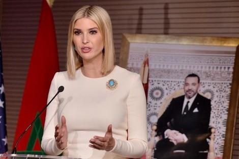 إيفانكا ترامب تشيد بريادة صاحب الجلالة الملك محمد السادس