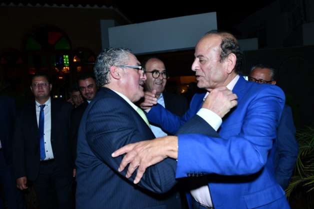 رئيسة الإتحاد البرلماني الدولي في ضيافة عبد القادر سلامة.