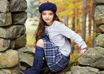 """""""بينيتون"""" تقدم طلّة كلاسيكية رائعة للأطفال في أحدث تشكيلاتها"""