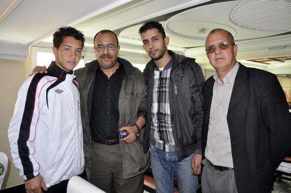 الاتحاد الزموري للخميسات بالناظور ومدرب الفريق يشيد بموهبة النجم الناظوري أحمد الشامي