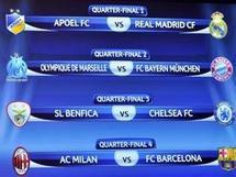 ميلان يصطدم مع برشلونة وكلاسيكو منتظر في النهائي