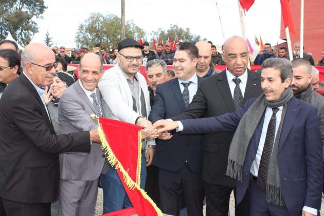 الفتاحي يشرف على إعطاء انطلاقة مشروع قنطرة للراجلين بجماعة الدريوش