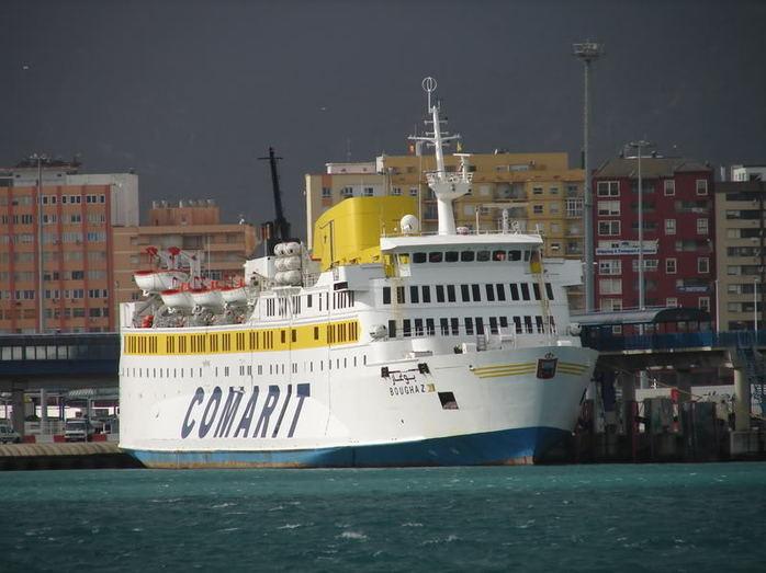 """رفع تعليق خدمات فرع مجموعة """"كوماريت"""" الذي كان يؤمن الخط البحري الرابط بين ميناءي طريفة وطنجة"""