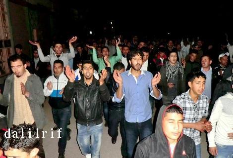 بني بوعياش... مسيرة حاشدة تنديدا بالأحكام الجائرة ودعوة لإضراب عام وإدانة واسعة للاعتقال السياسي
