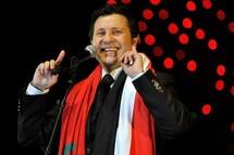 أمير الغناء هاني شاكر يغني لملك المغرب