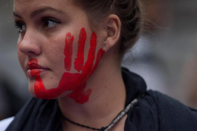 """أرضية اللقاء : ندوة وطنية في موضوع :""""من اجل  اعمال حق النساء من حياة خالية من العنف"""