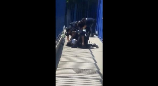 حقوقية إسبانية تفضح اعتداء الشرطة الإسبانية على مغربيين بالمعبر الحدودي بالناظور