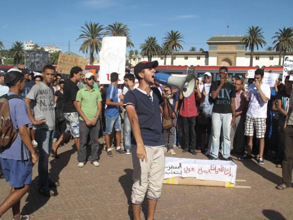 تلاميذ الدار البيضاء ينتفضون من أجل تغيير المنظومة التربوية