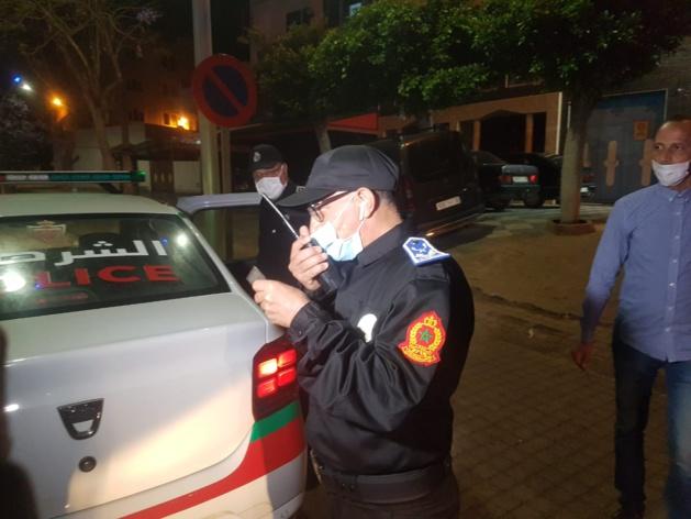 روبورطاج بالصور و الفيديو : العناصر الأمنية بالناظور تشدد إجراءات فرض حالة الطوارئ وتحد من التنقلات غير المبررة