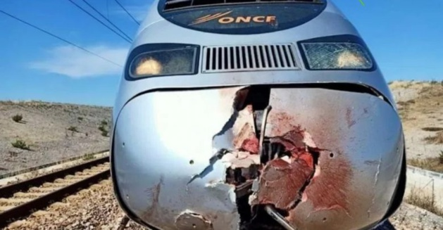 قطار البراق يقتل شخصا بشكل مروع بعد أن رمى بنفسه أمامه
