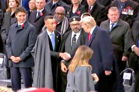 الرئيس ترامب يشيد بإنجازات المغرب تحت قيادة جلالة الملك