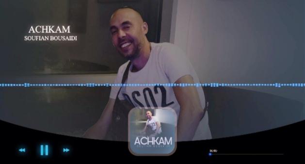 """فيديوا: بعد غيابه عن الساحة .. سفيان بوسعيدي يعود للإبداع في أغنية جديدة بعنوان """"أَشكام"""""""