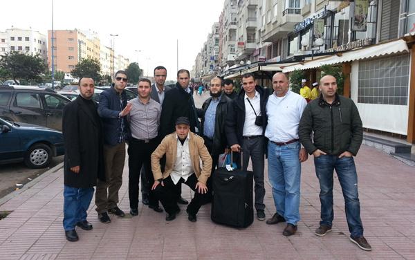 زيارة وفد عن الجمعية الإسلامية للشباب والخدمات الاجتماعية إلى المغرب من 11 إلى 18 ديسمبر 2012