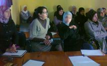 دورة تكوينية لفائدة منشطات ومنشطي برنامج محو الأمية  بدار المرأة  بمركز اتلاث بني سيدال