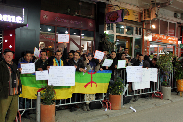 الحركة الأمازيغية وساكنة طنجة تندد بوصاية التيار المحافظ على حرية الفن والإبداع خلال المهرجان الوطني للفيلم