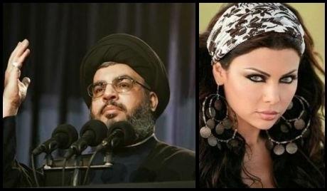 """هيفاء وهبي تنفي """"زواجها"""" من زعيم حزب الله"""