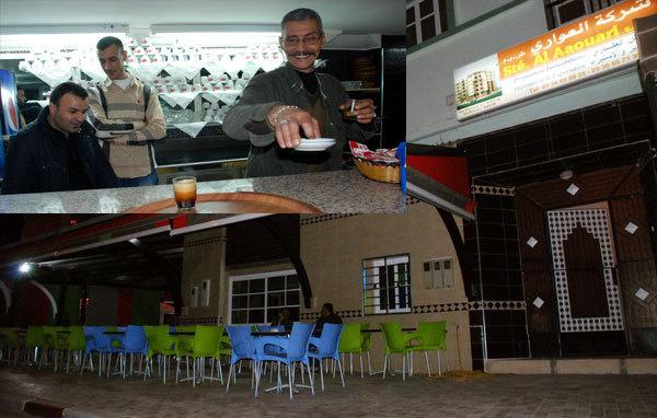 """مقهى """" لوبان"""" تغير من ديكورها و تظهر بلوك جديد"""