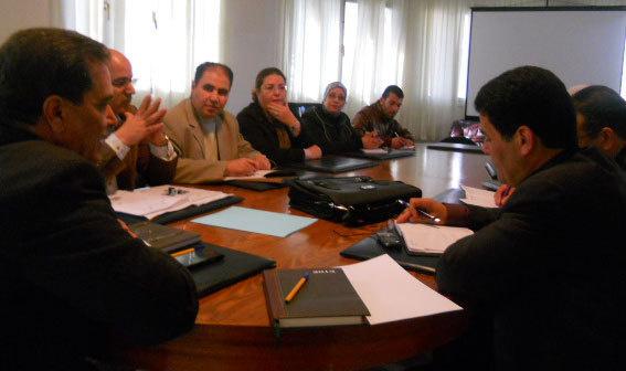 لقاء مع الجمعيات الشريكة  في مجال التربية غير النظامية
