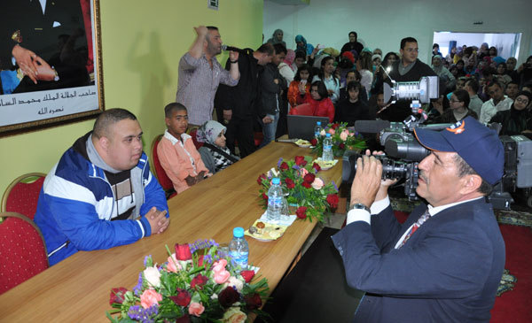 شباب الخير تحتفل باليوم الوطني للمعاق بحظور عامل الاقليم
