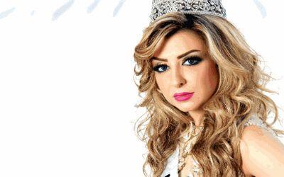 ملكة جمال العرب السورية نادين فهد بالناظور اواخر ابريل