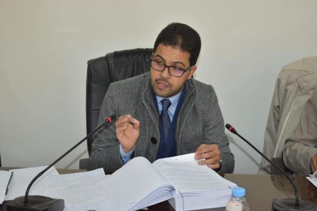 """الطالب الباحث فهد (عبد الحفيظ )حيلوة يناقش رسالة الدكتوراه في موضوع """"الأثر الرجعي للتقييد الاحتياطي بين النظرية و التطبيق"""" بكلية الحقوق بوجدة"""