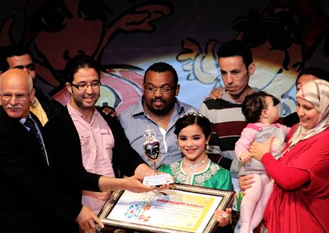دموع لأطفال العراق تختتم المهرجان الدولي لمسرح الطفل بالناظور