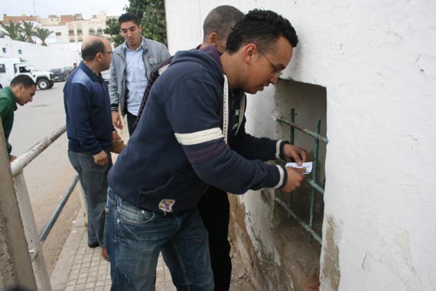 صحفيون ناظوريون يشترون تذاكر لقاء الفتح كتشجيع و مساندة للفريق