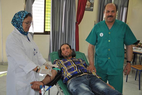 إعـلان عن تنظيم حملة للتبرع بالدم ببلدية زايو